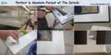Portes chaudes de rechange de la vente UPVC avec la glace grise de couleur