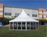 알루미늄 프레임 백색 PVC 화포 8X8m 큰 Pagoda 천막