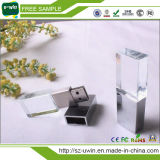Kristall 3D USB mit Laser-Firmenzeichen