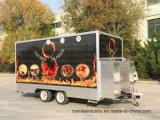 Chariot mobile à cuisine de Cart Food Van Catering Trailer de nourriture de remorque de nourriture de camion de nourriture