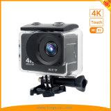 2017 Cheapest 2.0inch 4K de la pantalla táctil WiFi cámara de acción Waterproof
