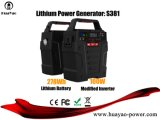 Generatore solare 100W del kit portatile di energia solare per uso domestico