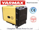 Yarmax 5KW 6000W do alternador do grupo gerador diesel Fabricante do Grupo Gerador Silenciosa Ym9900t