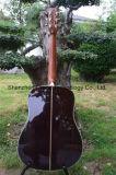 """D45s 41 """" 301 Fishman EQ (D45)를 가진 단단한 말쑥한 최고 고아한 음향 기타"""