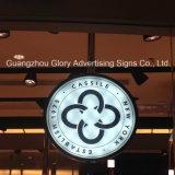 Lati LED del doppio che fanno pubblicità alla casella chiara d'attaccatura del segno del negozio