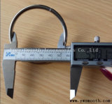 Befestigungsteil-Metalllegierungs-Faltenbildung-Zubehör-Stahlschwermetallschleifen-Riemen