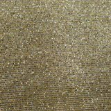 Couro de imitação de seda metálico do plutônio do Glitter para a sapata do saco
