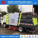 A elevada eficiência Preço mais barato 4X2 Vácuo Vassoura estrada caminhões 5m3 para venda