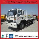 중국 HOWO 10 톤 빛 소형 4X2 작은 화물 트럭