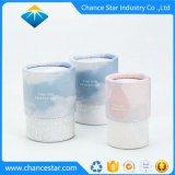 Los cuadros de cosmética personalizada Hat cilindro de espuma de tubo de papel
