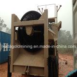 金の洗濯機のための移動式トロンメルスクリーン