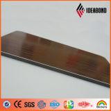 4ft * 8ft Embossing PE / PVDF Panneau composite en aluminium pré-peint (couleur en option)