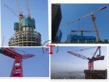 70mのジブTopkitのタワークレーンを建てている16トンの自己