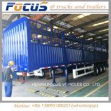 Tri-Welle 60 Tonnen Stange-/Zaun-LKW-Sattelschlepper für Viehbestand-Transport