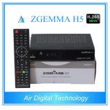 Combo H. 265 T2 DVB C van Zgemma H5 DVB S2 DVB van de Doos van de Ontvanger van TV