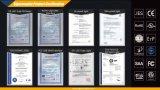 Novos produtos que deslizam para mudar a cor 12W Dimmable LED Table Light com Ce RoHS