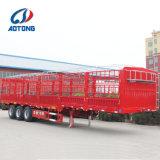 3 محور العجلة يسيّج مواش [سمي] مقطورات/حيوان شحن شاحنة مقطورة