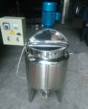 위생 스테인리스 전기 난방 믹서 탱크