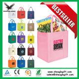 Logo imprimé shopping bon marché de gros sacs non tissé