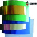 Blad van het Aluminium van de Gordijngevel het Kleur Met een laag bedekte