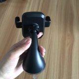 360 de la rotation du chargeur de téléphone de voiture sans fil de téléphone titulaire avec la cuvette de meunier