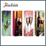 Cmyk druckte Soem-Entwurfs-kundenspezifischen preiswerten Papierbeutel für Wein