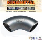 ASME SA182 F11 Cl1/F12 Cl2の2*1/2'ステンレス鋼の接合溶接された肘