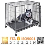 X-Large tube carré de cages de chien