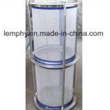 Separador centrífugo de la alta precisión para la fibra