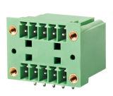 3.81mm Abstand-steckbarer Klemmenleiste-Verbinder und doppelte Stufe