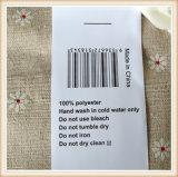 Cinta de nylon de la aduana de la escritura de la etiqueta de la ropa de la cinta del tafetán de la tela caliente de las ventas