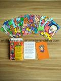 A impressão de fábrica jogo de tabuleiro/Crianças personalizar o jogo de cartão inteligente Cartão de aprendizagem, placas educativas