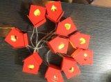 Lumières neuves de chaîne de caractères de DEL avec différentes couvertures pour le festival saisonnier
