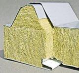 Панель сандвича шерстей утеса стальная на стена iий