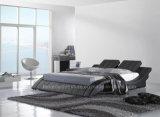 A021 Item Popular Mobília de design de cama dupla