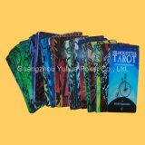 Diseño de encargo del PVC Tarjetas de Tarot con la impresión colorida