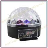 LEIDENE Kristallen bol met Patroon voor de Verlichting van de Disco (hl-056)