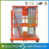 14m Two Mast Aluminum Alloy Grain elevator
