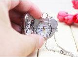 Vigilanze del pendente della collana di figura del cuore di modo delle signore con la catena