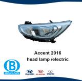 Accent 2016 de Lamp 92101-1r070 92102-1r070 van Hyundai van de Koplamp