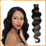 Do cabelo peruano natural de Remy do Virgin do cabelo do preço de grosso profundo frouxo de trama