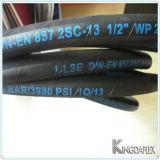 Hydraulischer Gummihochdruckschlauch SAE100r2a/En853 2.