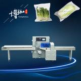 Поставщик машины упаковки подушки овоща листьев нержавеющей стали 304 полуавтоматный китайский