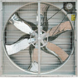 Maison de la volaille à montage mural du ventilateur d'échappement