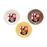 Modifica religiosa personalizzata dell'anello di ritorno del regalo della moneta del ricordo della squadra