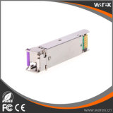 1000BASE-BX20 SFP 모듈, 1490 nm TX/1310 nm RX 파장, 20km 의 양립한 단 하나 LC/PC 연결관 Cisco
