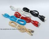 높은 탄력 있는 속도 Sync Und Ladekabel 마이크로 USB 케이블