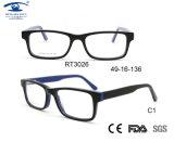 Última Moda Specs Frames Adolescente Moda Acetato Óculos estrutura óptica