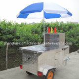 Equipamento de venda automática de snacks de rua Café Trailer Alimentar, carrinhos de cachorro quente, comida móveis veículos para venda