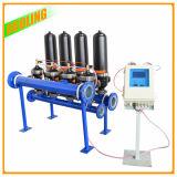 Sistema de filtración de agua de riego por goteo filtro de arena de lavado automático del sistema de auto limpieza del filtro de agua Fiter